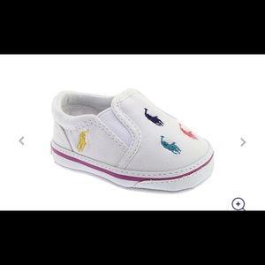 NIB Ralph Lauren Baby Canvas BAL Harbour Shoes